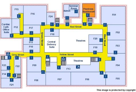 Emergency Department Floor Plan by Plans For Frimley Park Hospital Camberley