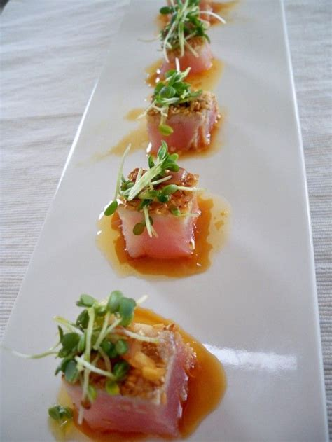 Are Recipes By Chefs More Complicated Than Those By Chefs by Tuna Tataki With Dressing Benny S Food