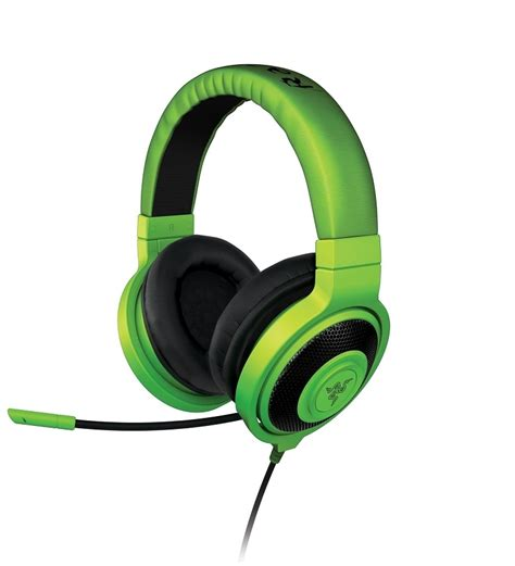 Mouse Razer Kraken razer kraken pro analog gaming headset green with free