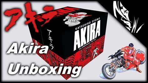 libro akira 35th anniversary box akira 35th anniversary box set manga unboxing review youtube