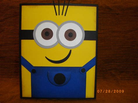 minion card cards 21 pinterest - Minion Gift Card