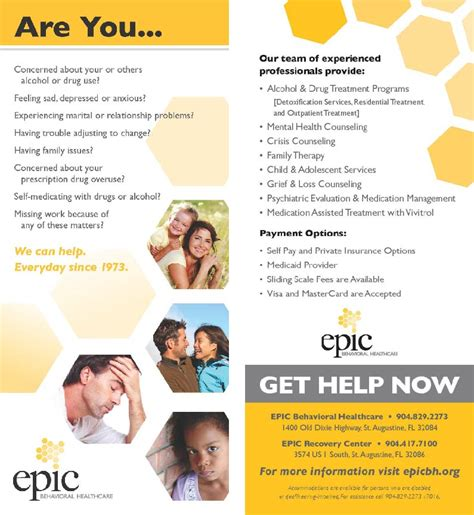 Epic Detox St Augustine by Epic Behavioral Healthcare Resource Library