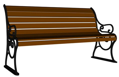 art benches wooden bench clipart clipground