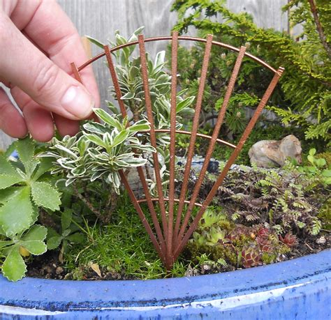Miniature Trellis trees and shrubs the mini garden guru from twogreenthumbs