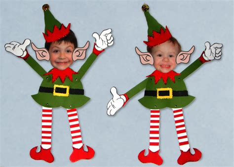 elf yourself template printable altered artifacts elf yourself puppets free templates