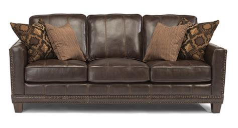 port royal leather sectional flexsteel latitudes port royal transitional sofa with