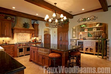 Belmont Kitchen Island by Kitchen Design Ideas Sprucing Up Ceilings With Beams
