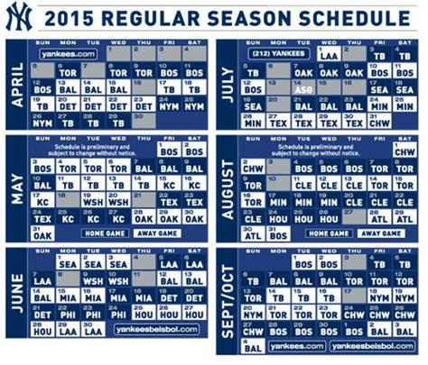 printable yankee tickets yankees 2016 schedule printable calendar template 2016