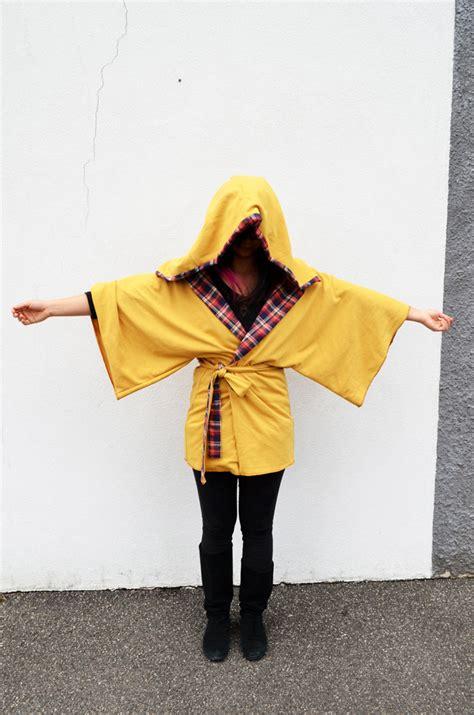 kimono jacket pattern diy pretty quirky pants diy kimono jacket hood