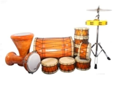 Tumbuk Batu Marawis Polos 1 set marawis polos toko bali asli musik jual rebana