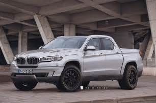 Bmw Truck What If Bmw X5 Truck Rendering
