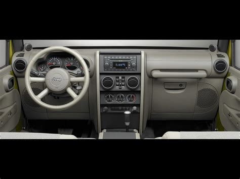 jeep wrangler dashboard 2007 jeep wrangler unlimited dashboard 1024x768 wallpaper