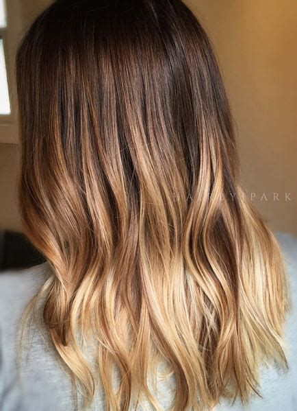 ombre bunette blonde brunette on bottom melded honey mane interest