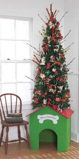 Dog House Christmas Tree Man S Best Friend Pinterest
