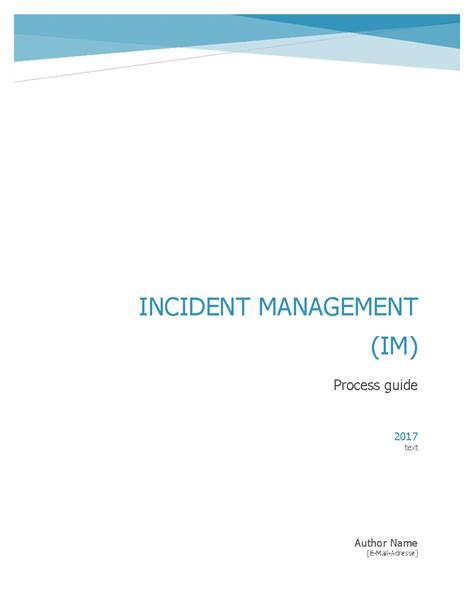 itil incident management workflow itil incident management workflow process guide word