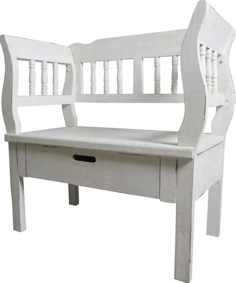 small white bench seat fireside bench seat country accent storage benches