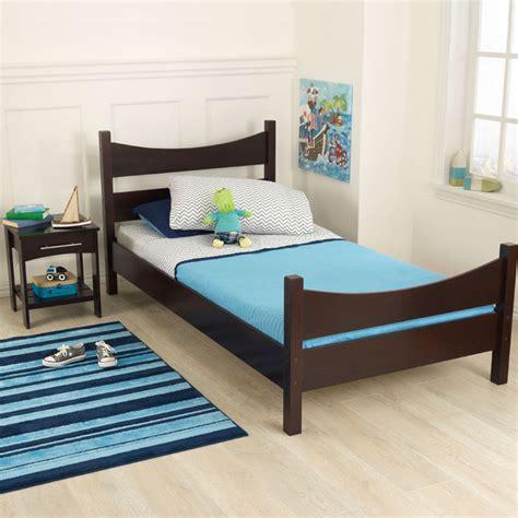 kidkraft twin bed addison twin bed espresso by kidkraft rosenberryrooms com