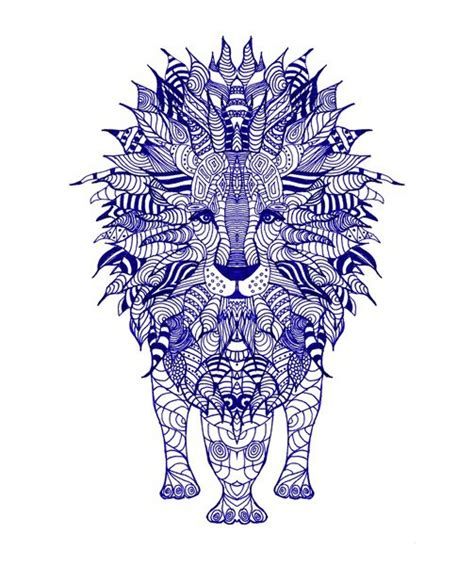 aztec lion tattoo pin aztec cake on