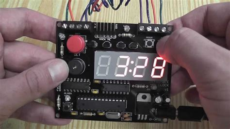 nootropic design defusable alarm clock build