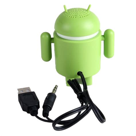 android robots android robot mini speaker irdroid