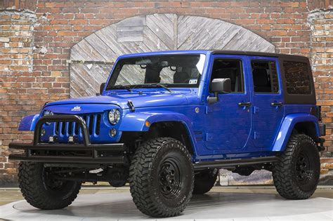 royal blue jeep 2015 jeep wrangler unlimited sport automatic