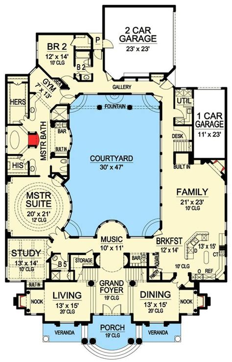 central courtyard house plans best 25 walk in pool ideas only on pinterest beach entrance pool pool retaining