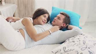 How To Cuddle With A In Bed by Cuddling And Talking On Bed