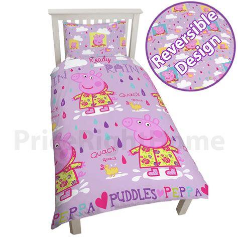 piumone per bambini peppa pig george trapunta piumone cover bambini letto