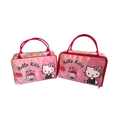 Dijamin Travel Bag Anak Tas Koper Tas Selempang Anak jual jejo travel bag tas koper anak besar hello pink harga kualitas terjamin