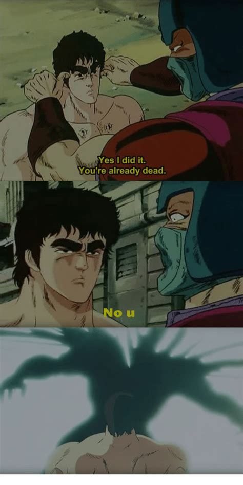 U Yes No by Yes I Did It You Re Already Dead No U Yes Meme On