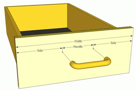 How To Measure Drawer Handles by Measuring Drawer Handle Holes