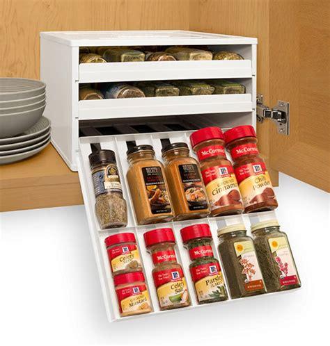 Spice Bottle Organizer Spicestack 30 Bottle Spice Organizer Cooking Gizmos