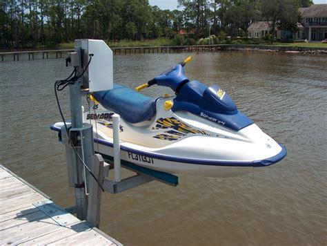 qab boat lift personal watercraft lifts fort walton beach and destin