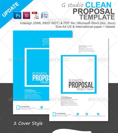proposal design template download professional invoice and proposal templates