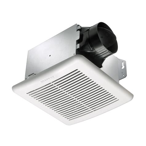 bathroom exhaust fan home depot nuvent decorative white dome 100 cfm ceiling exhaust bath