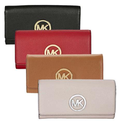 Michael Kors Fulton Wallet michael kors fulton carryall wallet black merlot luggage dusty ebay