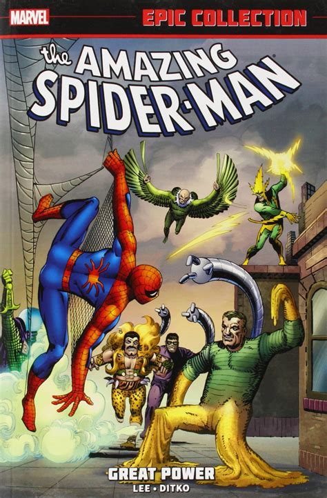 amazing spider man epic collection epic collection vol 1 amazing spider man 1 marvel database fandom powered by wikia