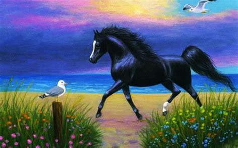 wall paper pferde hintergrundbilder
