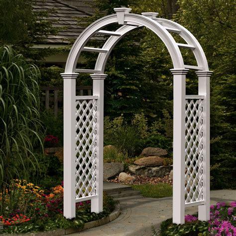 Garden Arch Rental White Lattice Wedding Arch American Rentalamerican