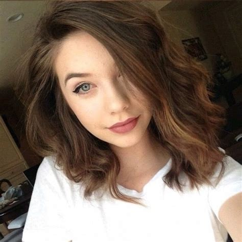 medium length hairstyle tumblr