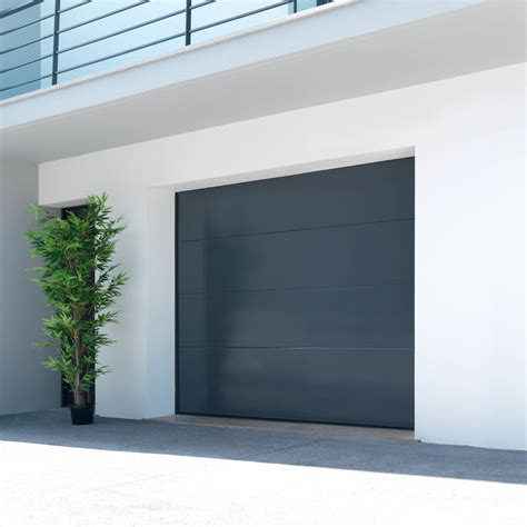 porte de garage sectionnelle malte h 200 x l 240 cm