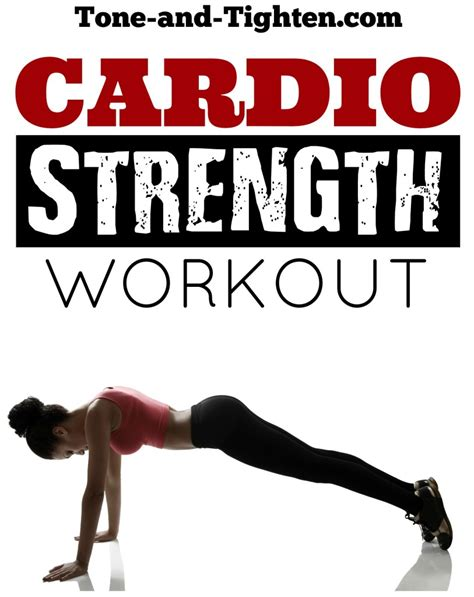 20 minute at home cardio strength workout tone and tighten
