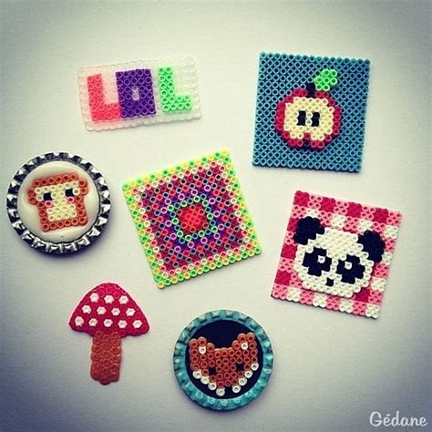 mini perler 473 best perler images on