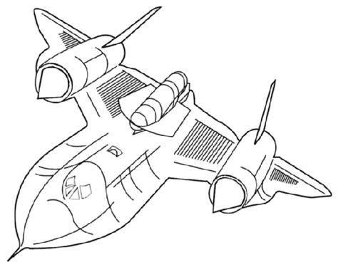 blackbird jet coloring pages sr 71 colouring pages