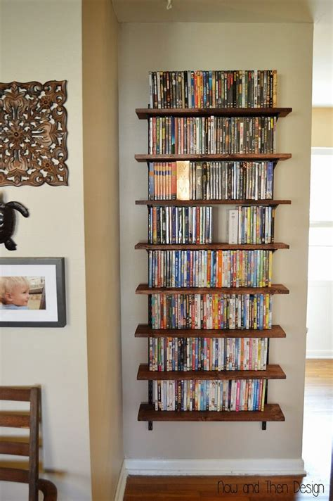 wall dvd shelf 25 best ideas about dvd storage solutions on pinterest