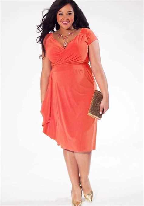 plus size coral bridesmaid dresses pluslook eu collection