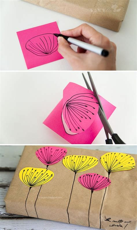 How To Make Birthday Gifts Out Of Paper - 17 best ideas about gift wrapping on wrapping