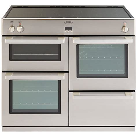 induction cooker lewis buy belling db4 100ei professional induction hob range cooker stainless steel lewis