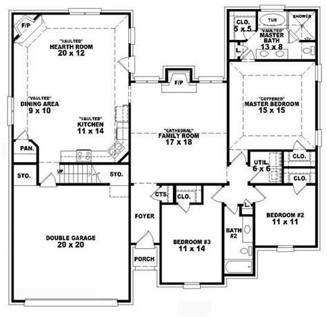 big country 5746 4 bedrooms and 3 5 baths the house 168 best house and home floor plans images on pinterest