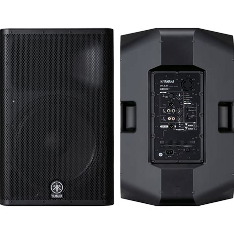 Yamaha Dxr15 Original new 2x yamaha dxr15 15 quot active dxr speaker 2x stands 2x 1 4 quot to speakon ebay
